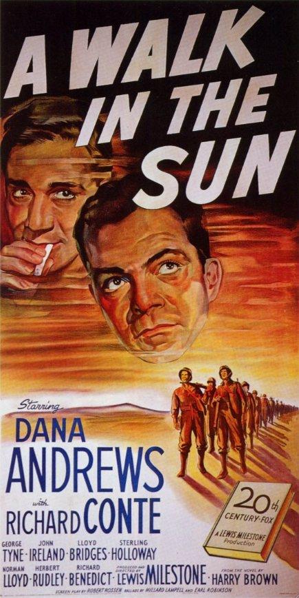 A Walk in the Sun (1945 film) A Walk in the Sun Dec 25 1945 OCD Viewer