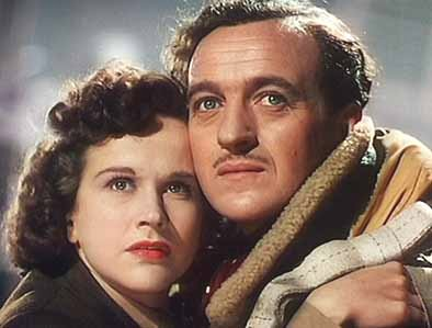 Kim Hunter and David Niven