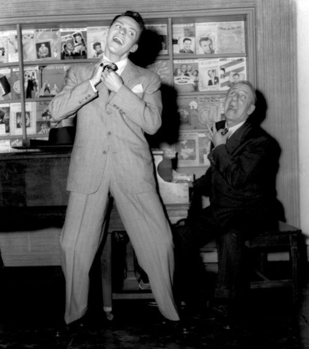 Frank Sinatra and Jimmy Durante