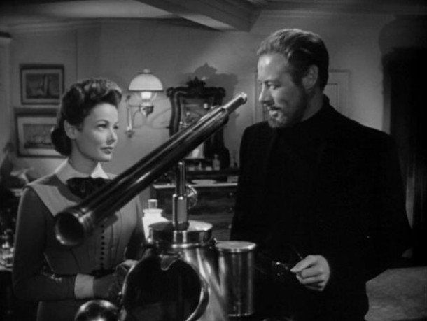 Gene Tierney and Rex Harrison