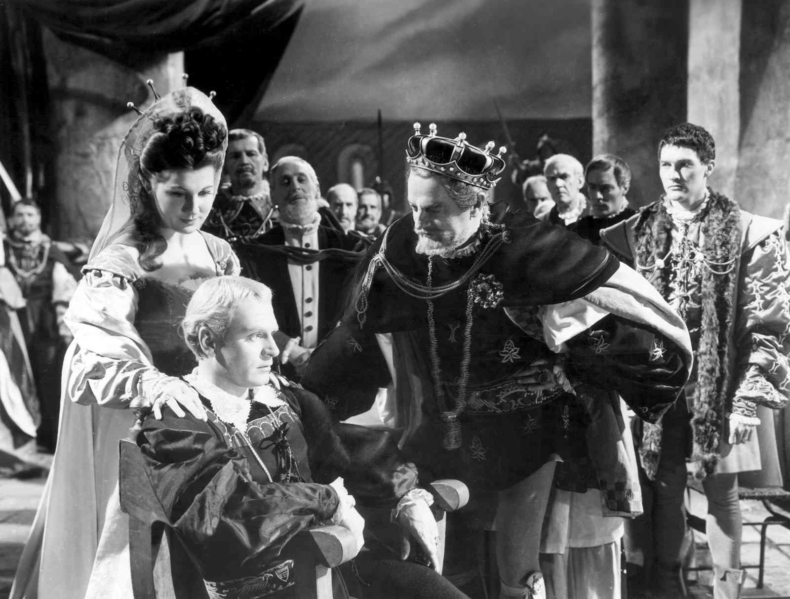 hamlet v claudius He has come to tell them that claudius wants hamlet to fence with laertes and  that the king has made a wager with laertes that hamlet will win then osric.