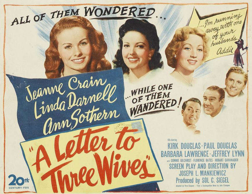 A Letter to Three Wives (Jan. 20, 1949) | OCD Viewer