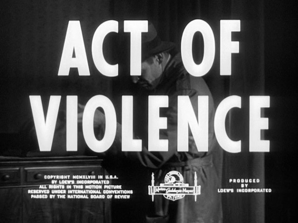 Act of Violence title