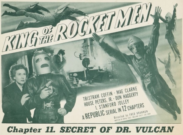 King of the Rocket Men lobby card