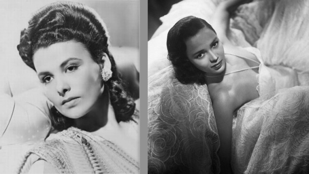 Lena Horne and Dorothy Dandridge
