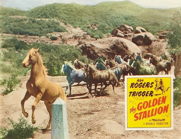 Golden Stallion lobby card