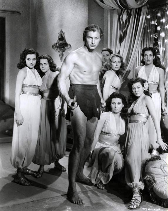 Tarzan and the slave girls