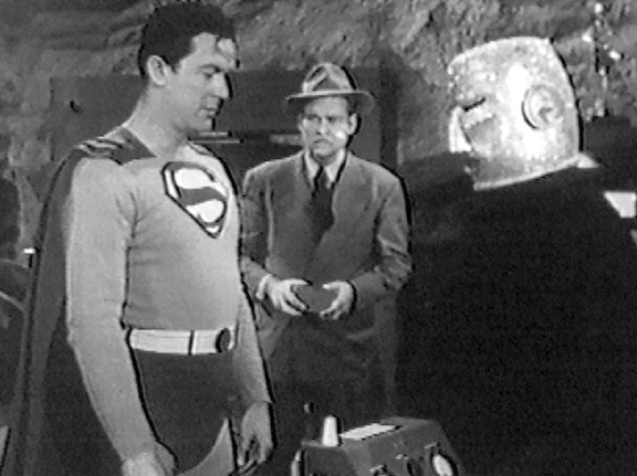 Superman and Atom Man